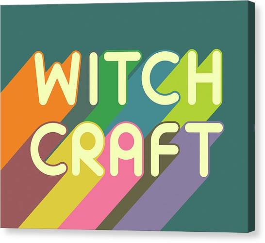 Witches Canvas Print - Witchcraft by Jazzberry Blue