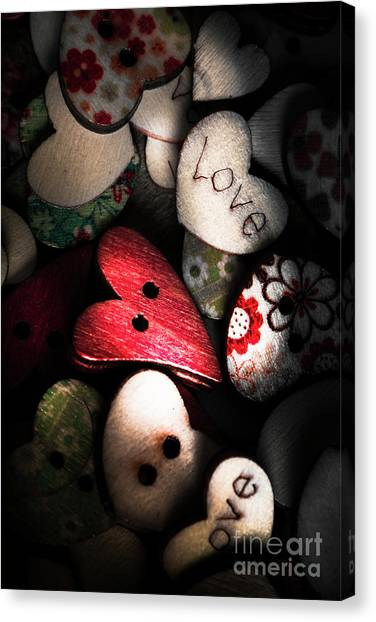 Connection Canvas Print - With Sentiment In The Sewing Box by Jorgo Photography - Wall Art Gallery
