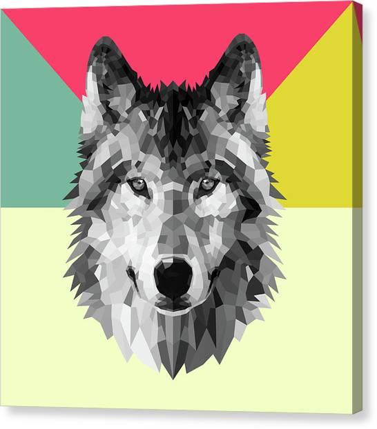 Lynx Canvas Print - Wolf by Naxart Studio