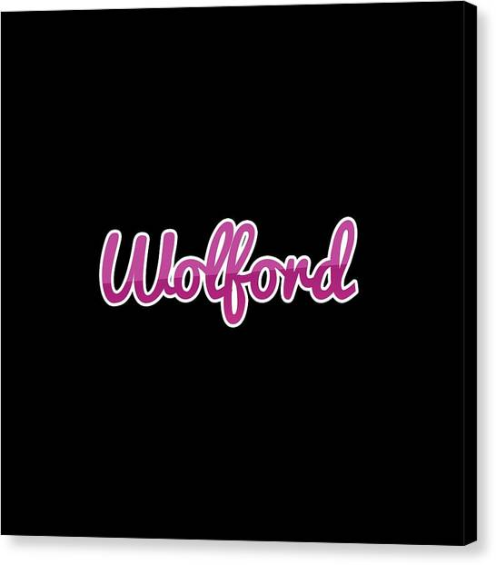Canvas Print - Wolford #wolford by Tinto Designs