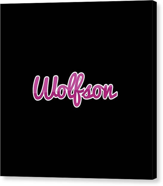 Canvas Print - Wolfson #wolfson by TintoDesigns