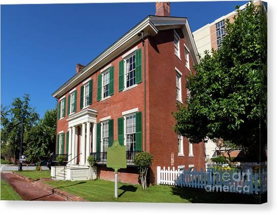Woodrow Wilson Boyhood Home - Augusta Ga 2 Canvas Print