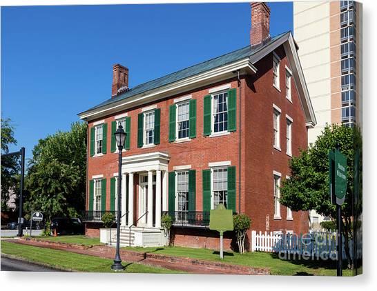 Woodrow Wilson Boyhood Home - Augusta Ga 3 Canvas Print