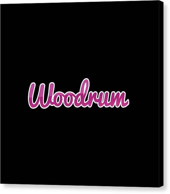 Canvas Print - Woodrum #woodrum by TintoDesigns