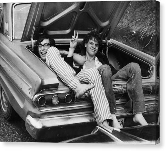 Woodstock Hitchers Canvas Print