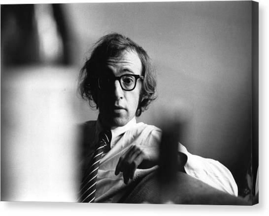 Woody Allen Canvas Print by Evening Standard