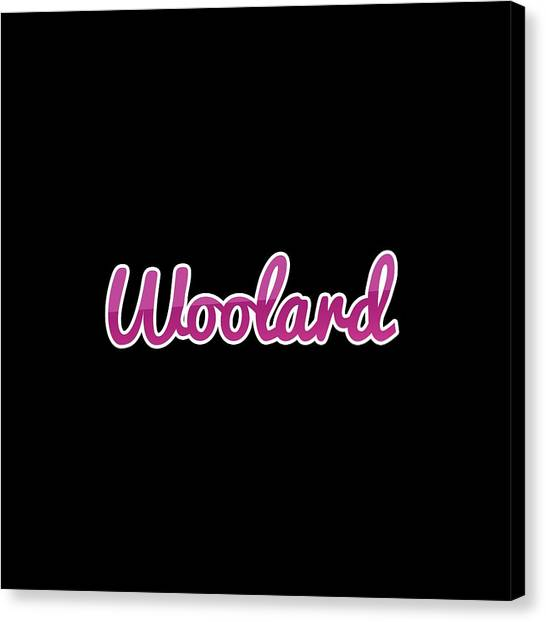 Canvas Print - Woolard #woolard by TintoDesigns
