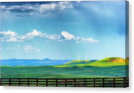Wyoming Vast Landscape  Canvas Print