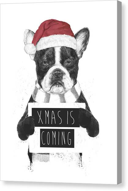 Winter Canvas Print - Xmas Is Coming by Balazs Solti