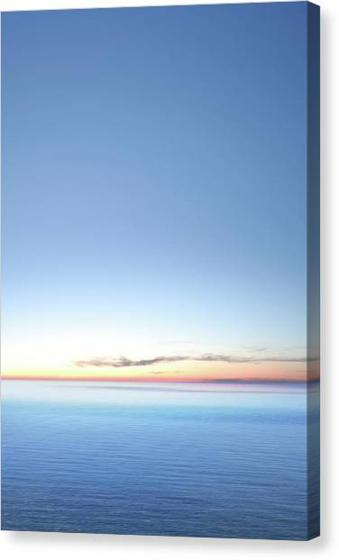 Xxxl Serene Twilight Lake Canvas Print by Sharply done