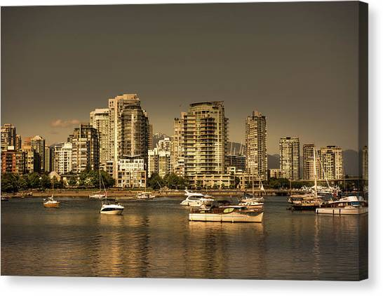 Yaletown Golden Hour Canvas Print