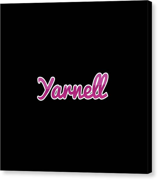 Canvas Print - Yarnell #yarnell by Tinto Designs