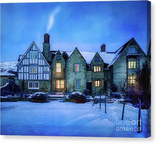 Ye Olde Manor Canvas Print