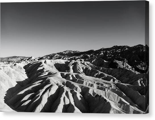 Zabriski's Grasp Canvas Print