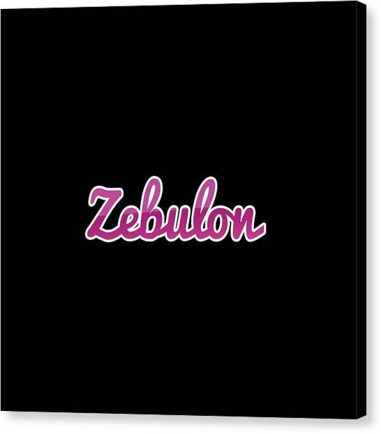 Canvas Print - Zebulon #zebulon by Tinto Designs