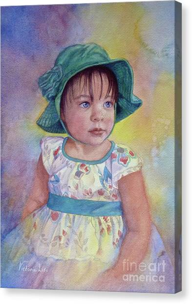 Zellie Canvas Print