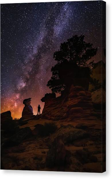 Canvas Print featuring the photograph Zion by Tassanee Angiolillo