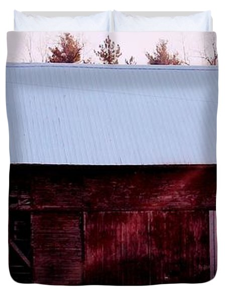 Autumn Barn Duvet Cover