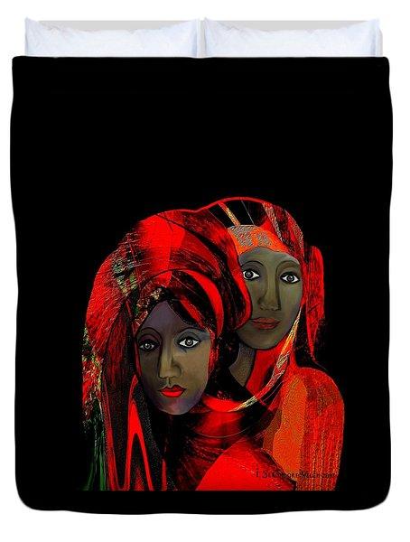 000 - Colour Of Passion Duvet Cover