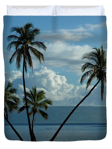 Duvet Cover featuring the photograph  A Little Bit Of Paradise by Vivian Christopher