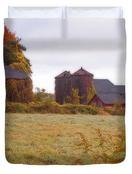 Abandoned Connecticut Farm  Duvet Cover