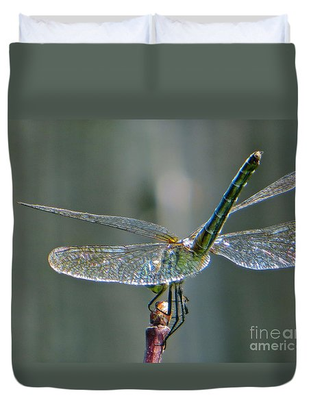 Duvet Cover featuring the photograph  Balance by Joy Hardee