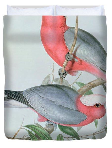 Birds Of Asia Duvet Cover by John Gould