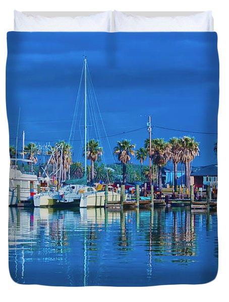 Blue Morning  Duvet Cover