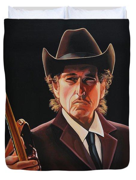 Bob Dylan 2 Duvet Cover
