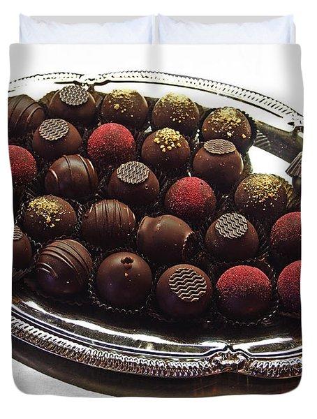 Chocolates Duvet Cover