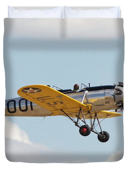 Come Fly With Me Duvet Cover by Pat Speirs