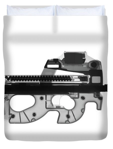 Fn Ps90 X-ray Photograph Duvet Cover