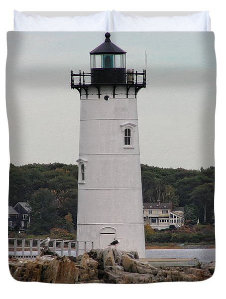 Fort Constitution Light Duvet Cover