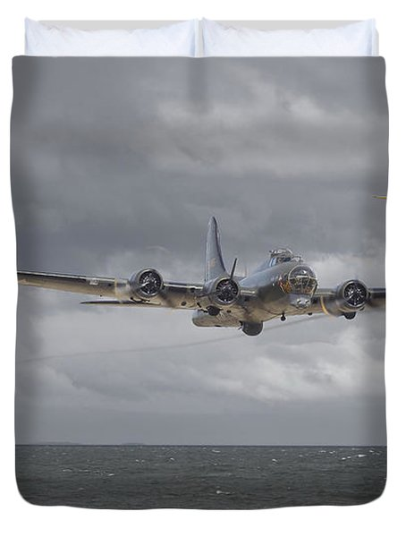 Home The Hard Way Duvet Cover by Pat Speirs