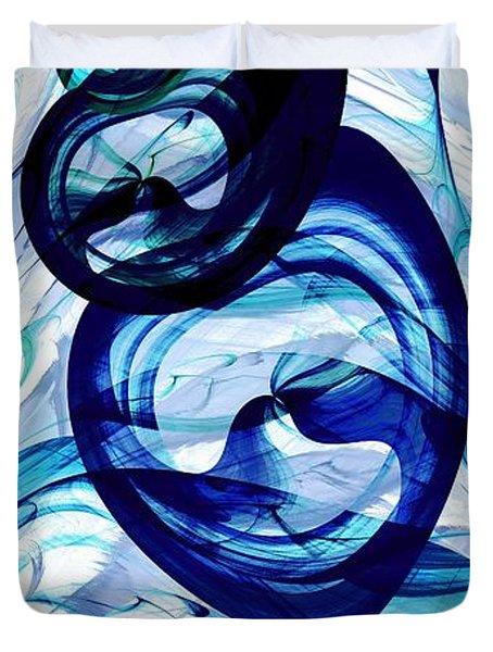 Immiscible Duvet Cover by Anastasiya Malakhova