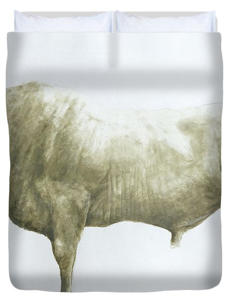 Islay Bull Duvet Cover by Lincoln Seligman