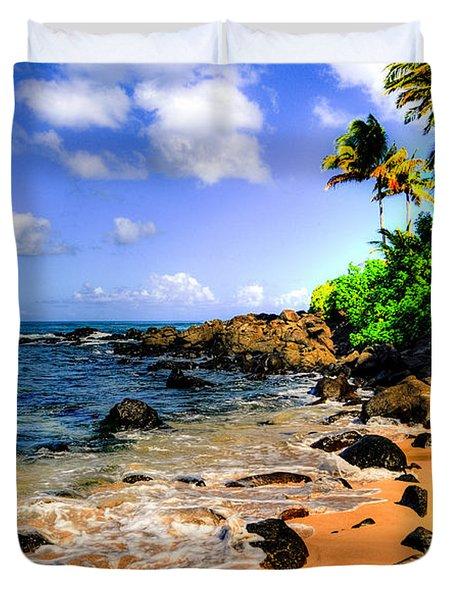 Laniakea Beach Duvet Cover by Kelly Wade