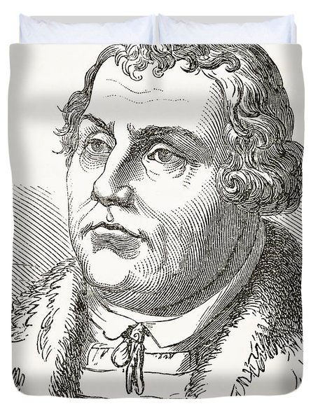 Martin Luther  Duvet Cover by English School