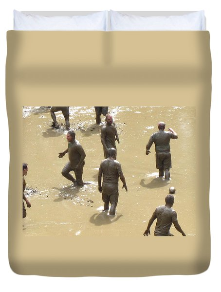 Nh North Conway Mud Ball Duvet Cover