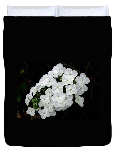 Oak Leaf Hydrangea Duvet Cover