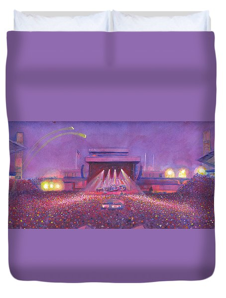 Phish At Dicks Duvet Cover