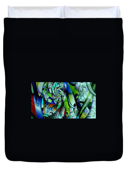 Picasso's Friend Duvet Cover by Peter R Nicholls