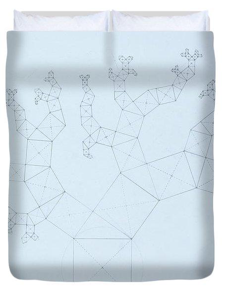 Quantum Tree Duvet Cover