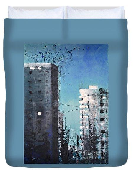 Rotterdam Duvet Cover by Maja Sokolowska