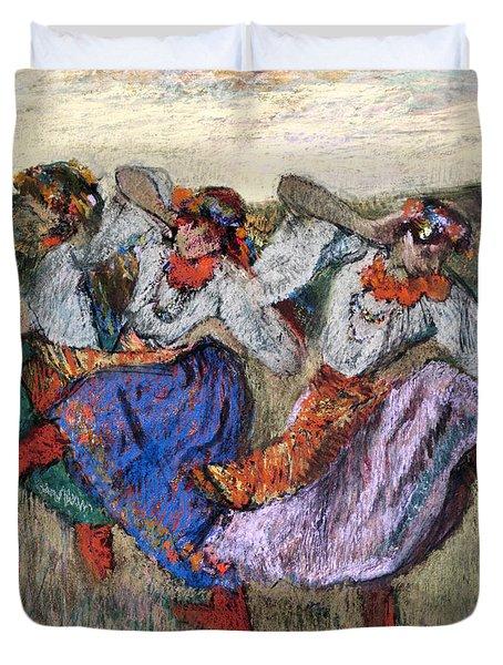 Russian Dancers Duvet Cover