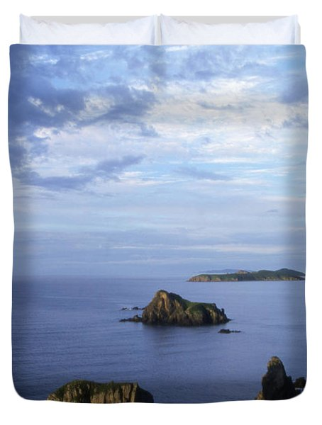 Russian Far East Duvet Cover by Anonymous