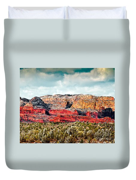 Secret Mountain Wilderness Sedona Arizona Duvet Cover