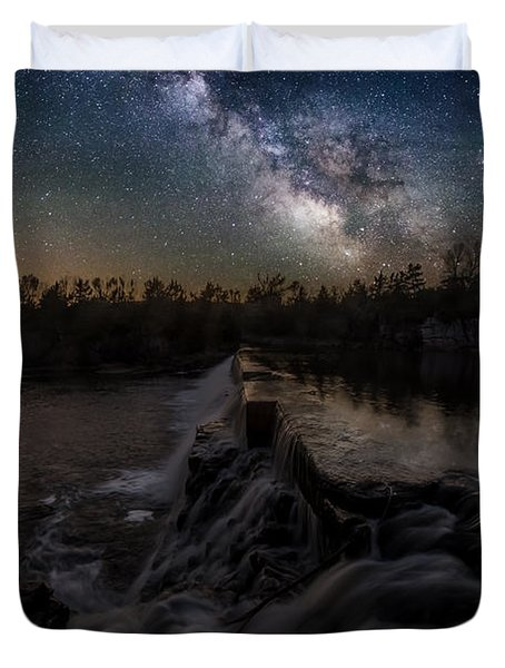 Split Rock Dreamscape Duvet Cover