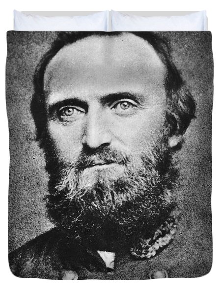 Stonewall Jackson Duvet Cover by Anonymous