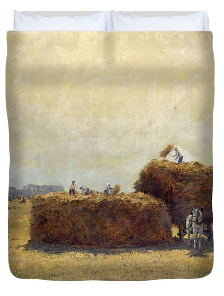 The Harvest Duvet Cover by Pierre-Georges Dieterle